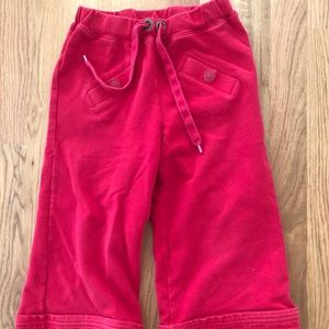 Hanna Andersson cropped pants size 6-7 EU 120